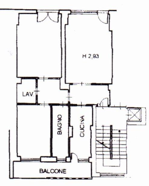 Planimetria /1 per rif. 1241
