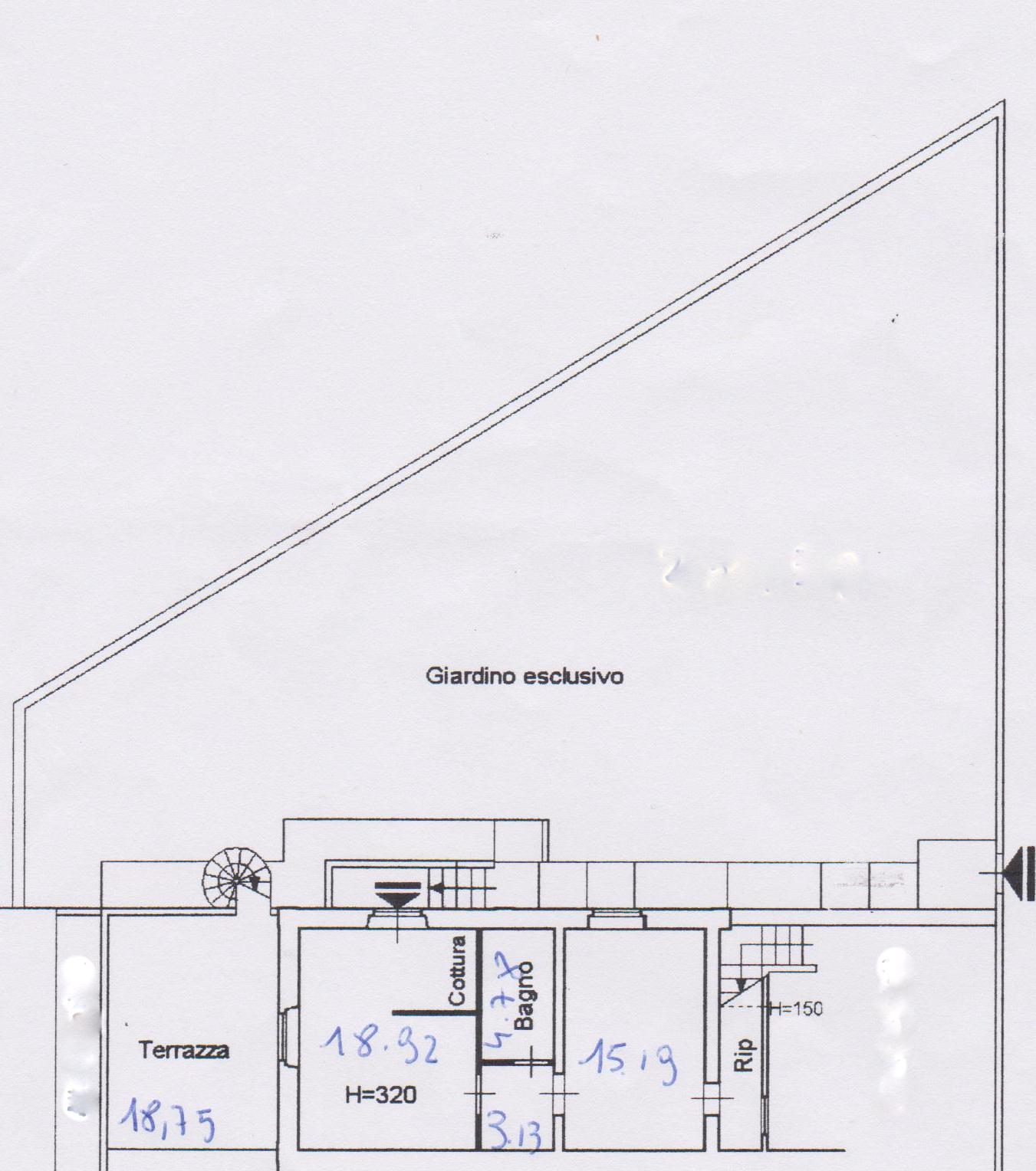 Planimetria /1 per rif. 1243