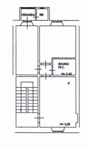 Planimetria /1 per rif. 1266