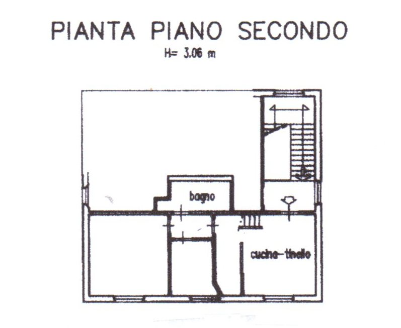 Planimetria /1 per rif. 1283