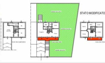 Planimetria 2/3 per rif. 1296
