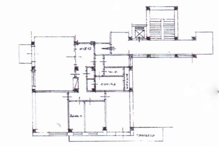 Planimetria /1 per rif. 1298