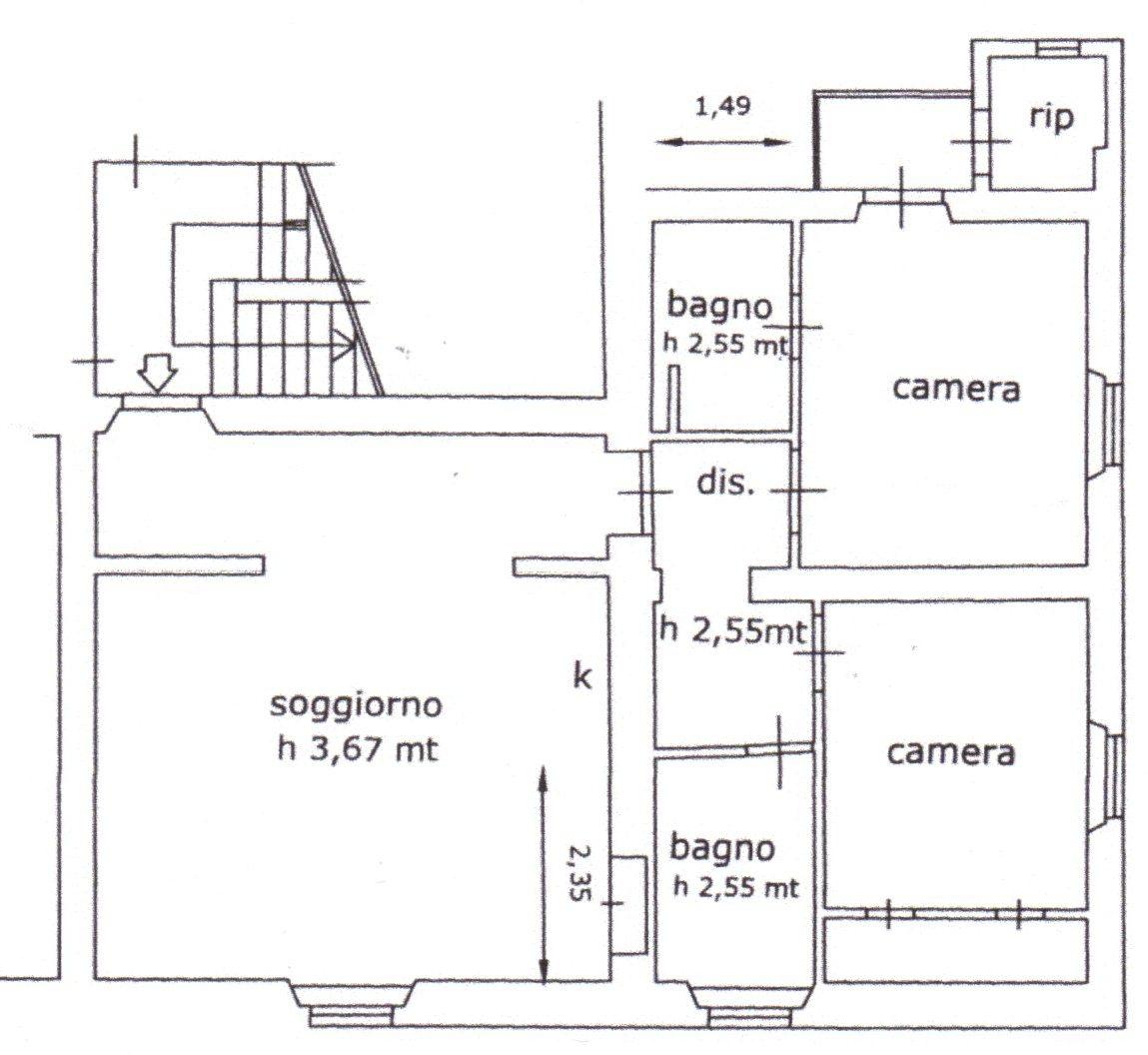 Planimetria /1 per rif. 1359