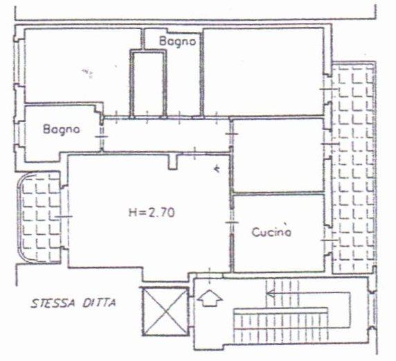 Planimetria /1 per rif. 1372
