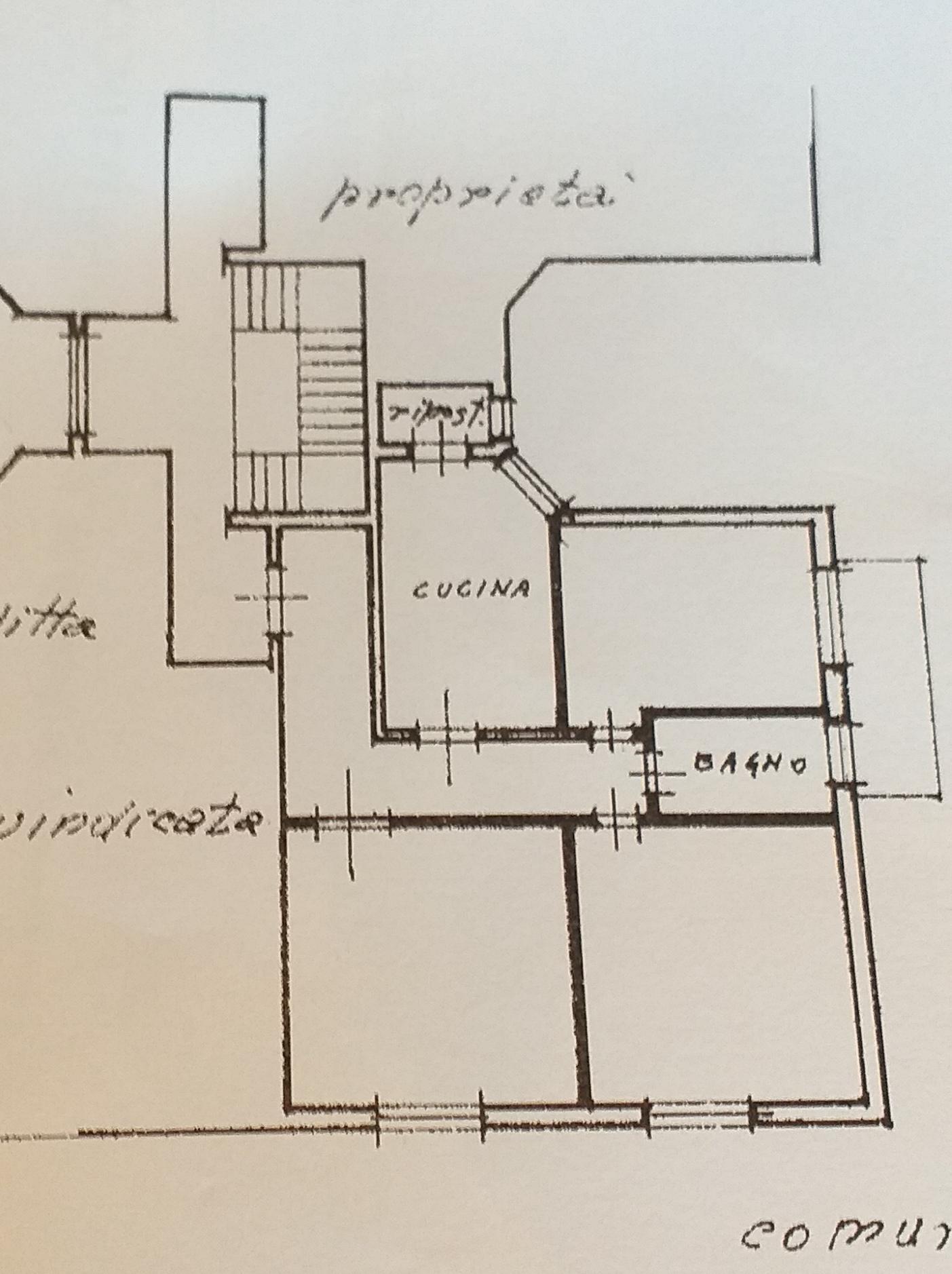 Planimetria /1 per rif. 1380