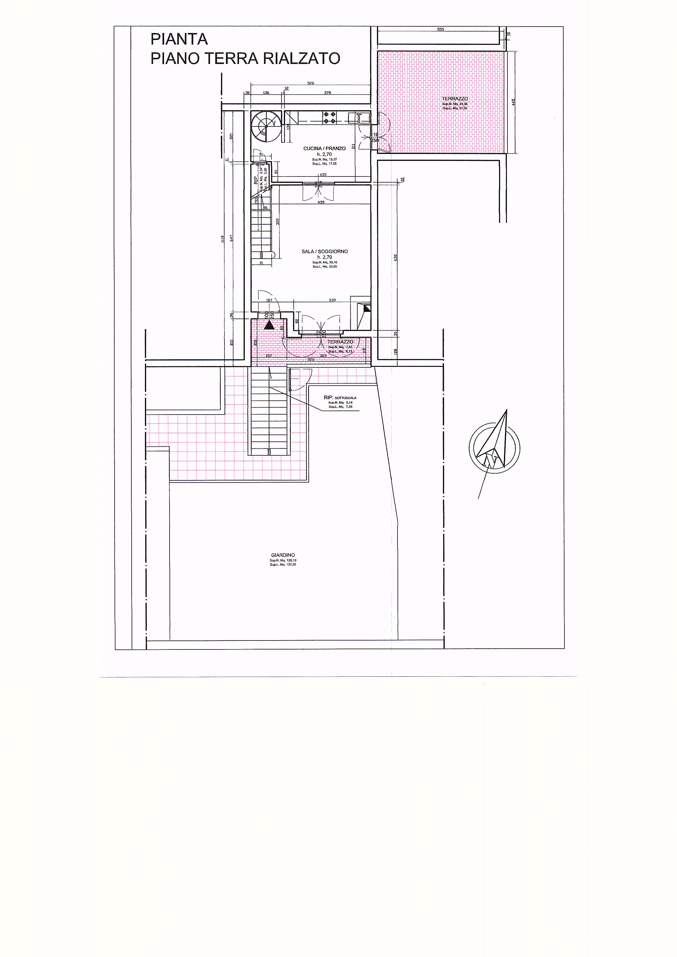 Planimetria 2/2 per rif. 1313