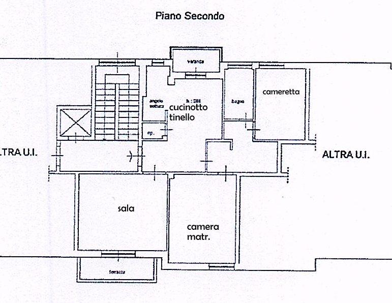 Planimetria 1/1 per rif. 1433