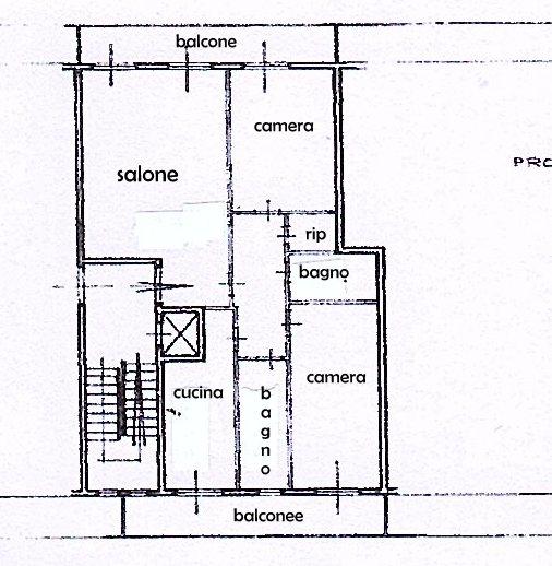 Planimetria 1/1 per rif. 1450