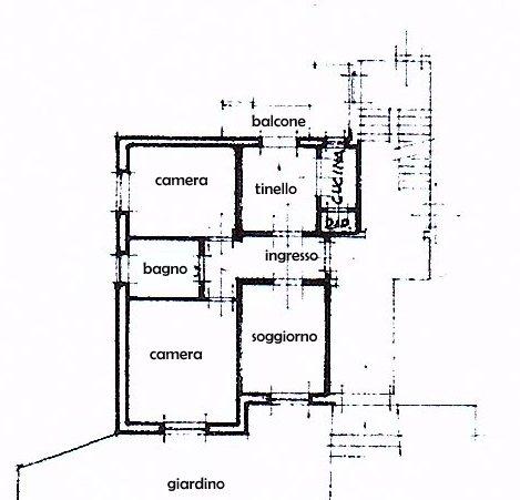 Planimetria 1/1 per rif. 1517