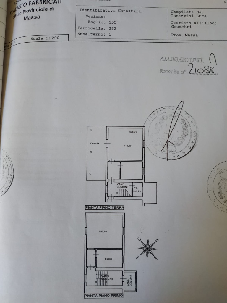 Planimetria 1/1 per rif. AP-24