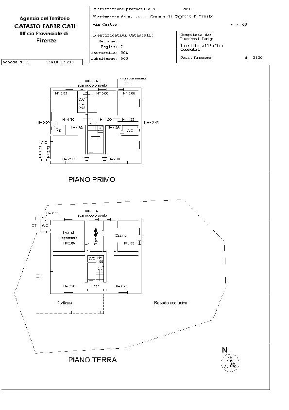 Planimetria 4/4 per rif. E 19/101