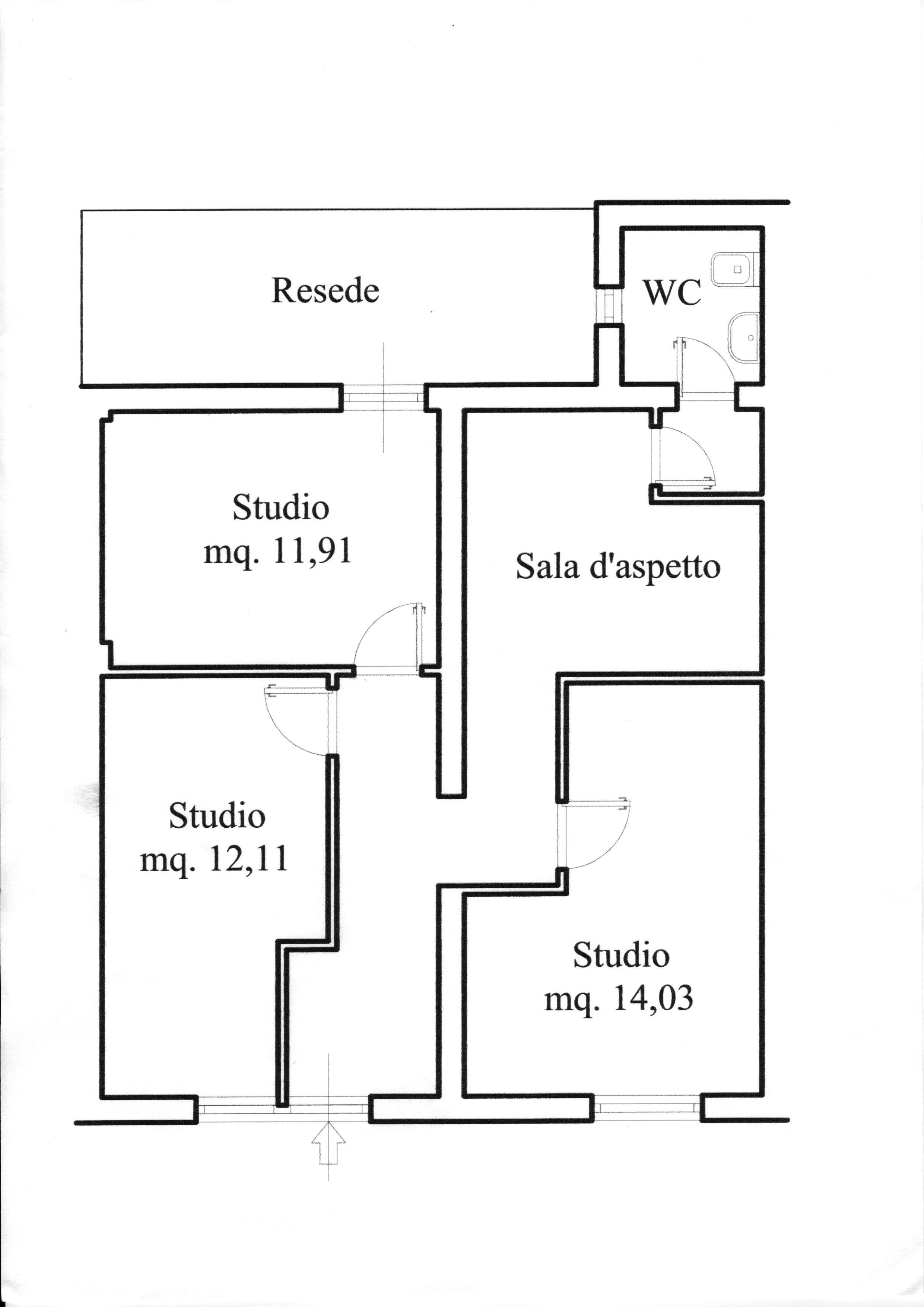 Planimetria 1/1 per rif. AC 21/010