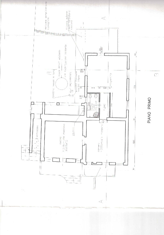 Planimetria /3 per rif. CASTV1