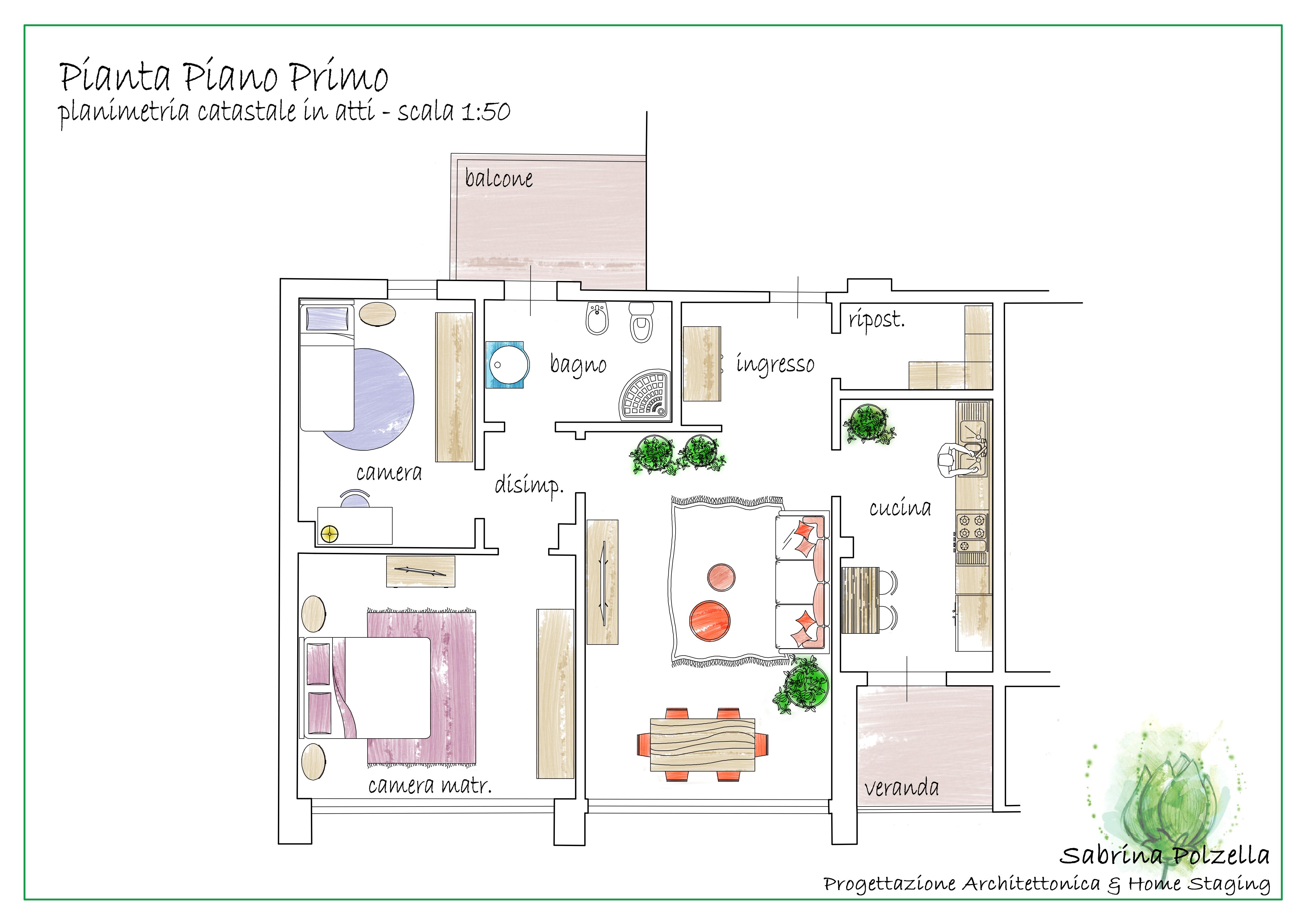 Planimetria 1/2 per rif. RBTN