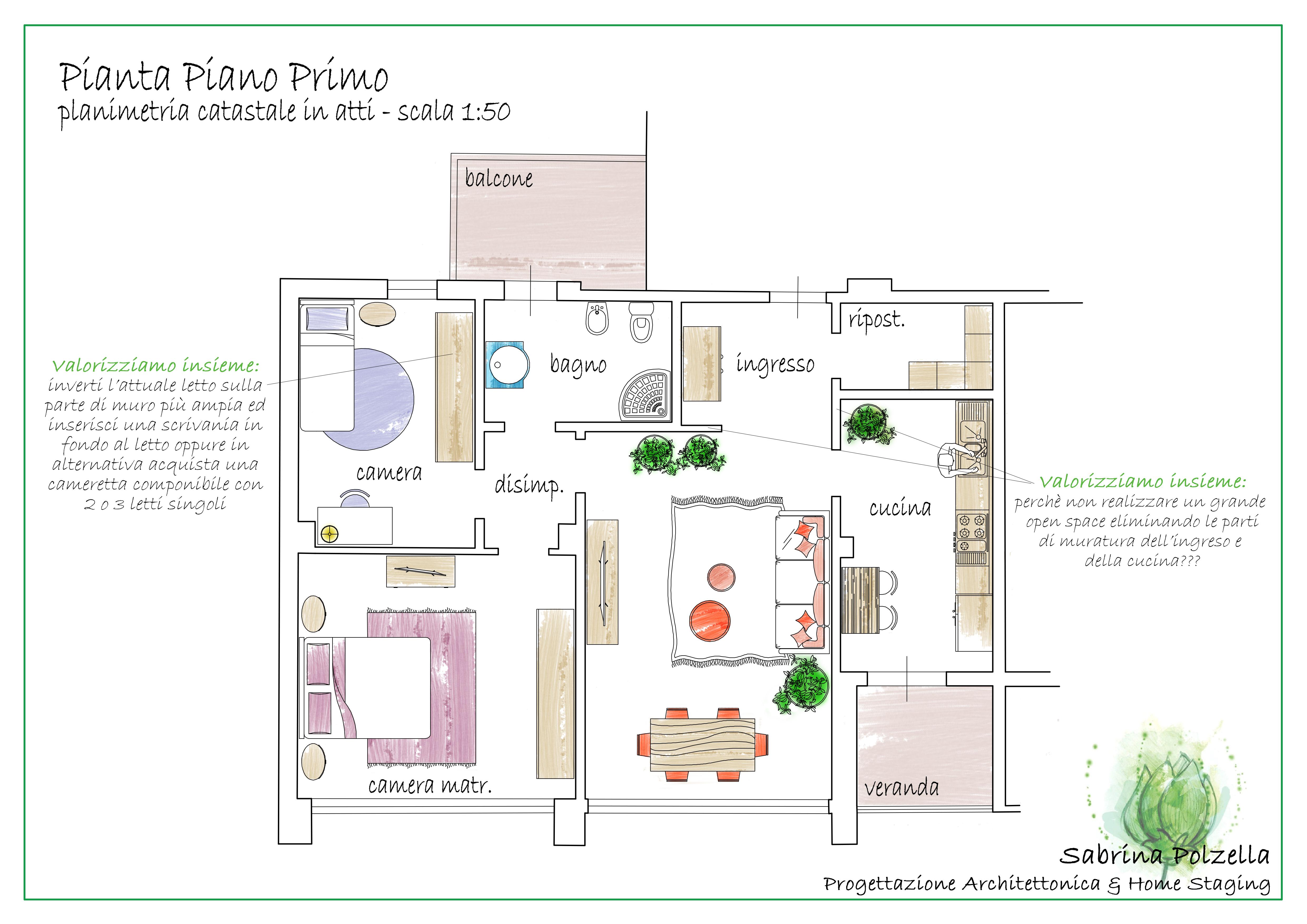 Planimetria /2 per rif. RBTN