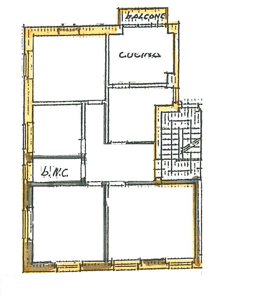 Planimetria 1/2 per rif. 185
