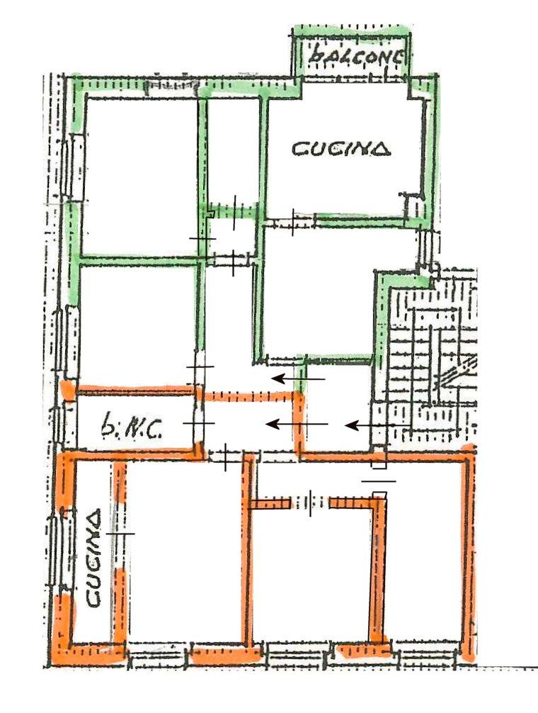 Planimetria 2/2 per rif. 185
