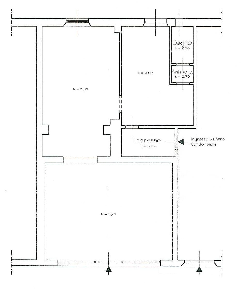 Planimetria 1/1 per rif. 106