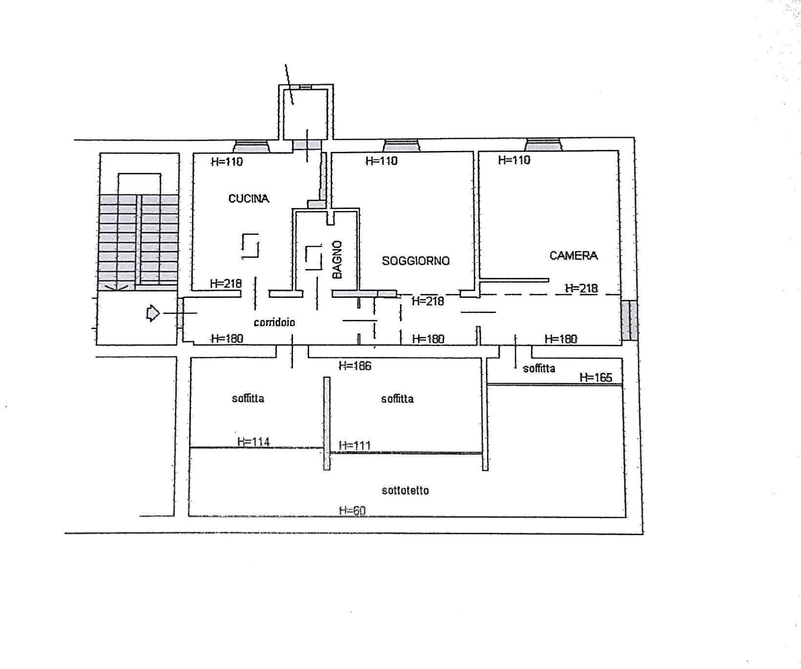 Planimetria 1/1 per rif. 96