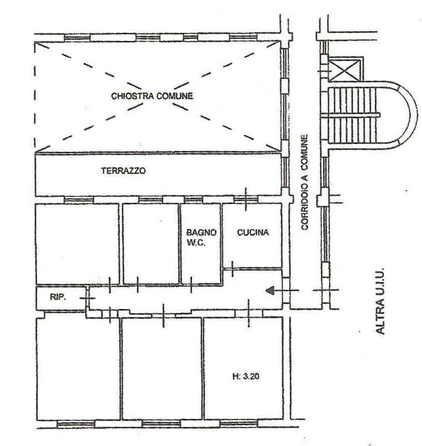 Planimetria 1/1 per rif. 172