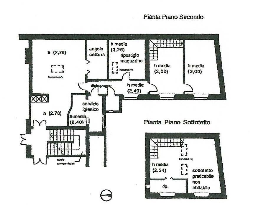 Planimetria 1/1 per rif. 358