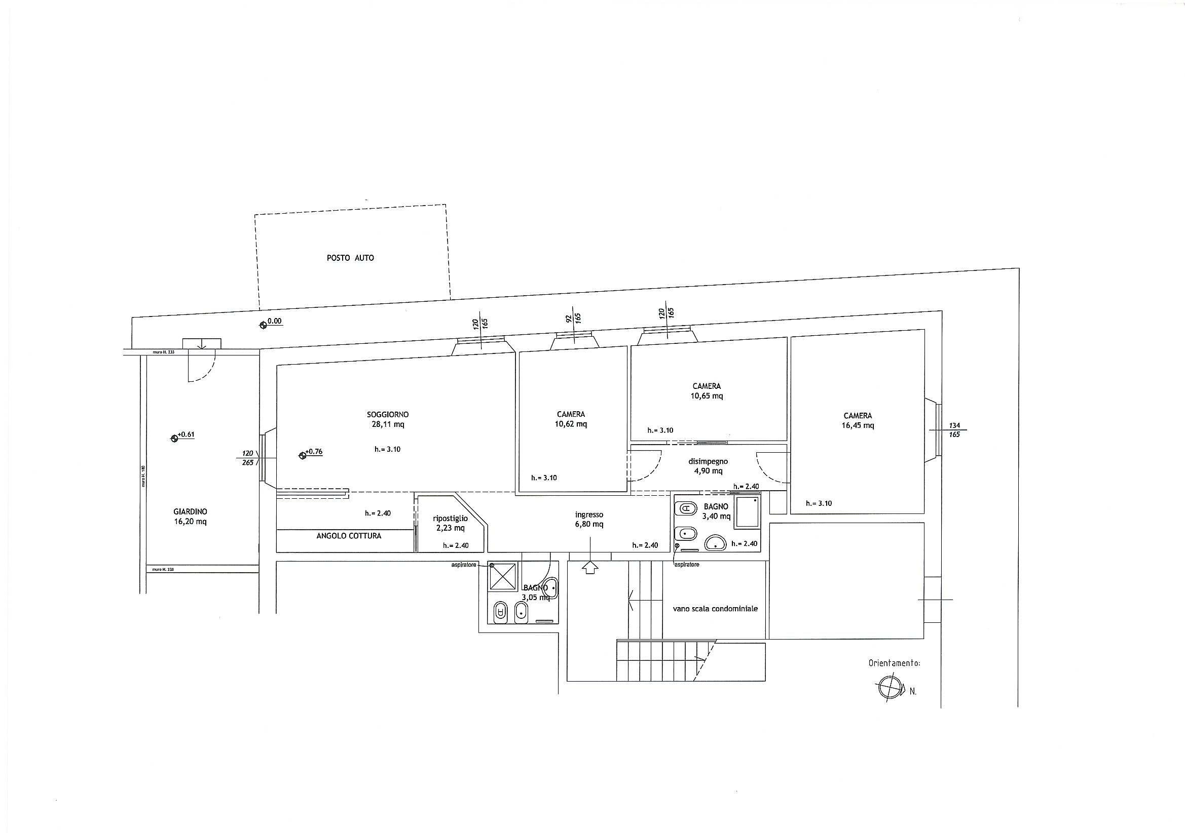 Planimetria 1/1 per rif. 379