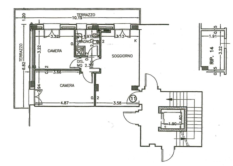 Planimetria 1/1 per rif. 188