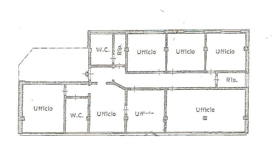 Planimetria 1/2 per rif. 497