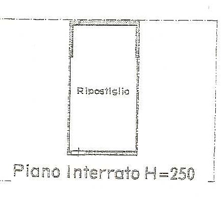 Planimetria 2/2 per rif. 497