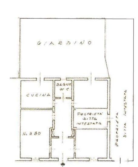 Planimetria 1/3 per rif. 170