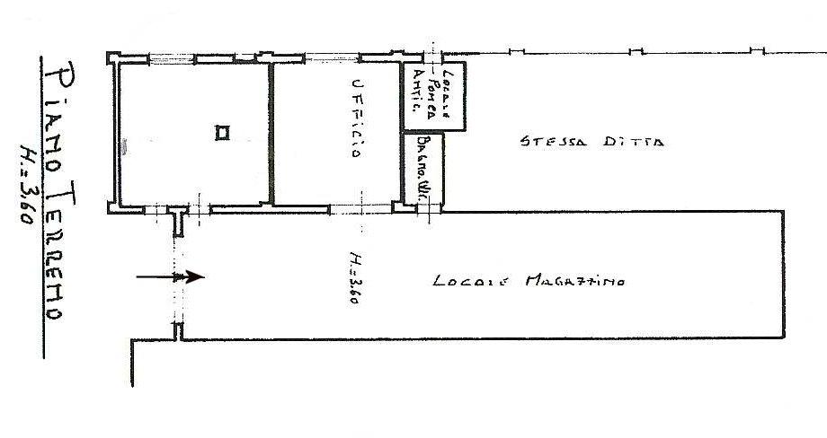 Planimetria 1/1 per rif. 545