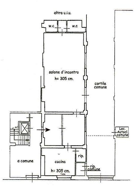 Planimetria 1/1 per rif. 344