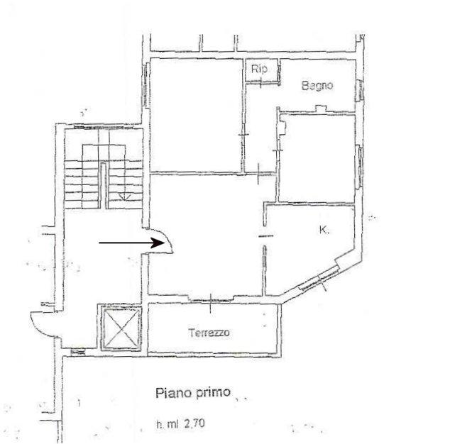 Planimetria 1/1 per rif. 361