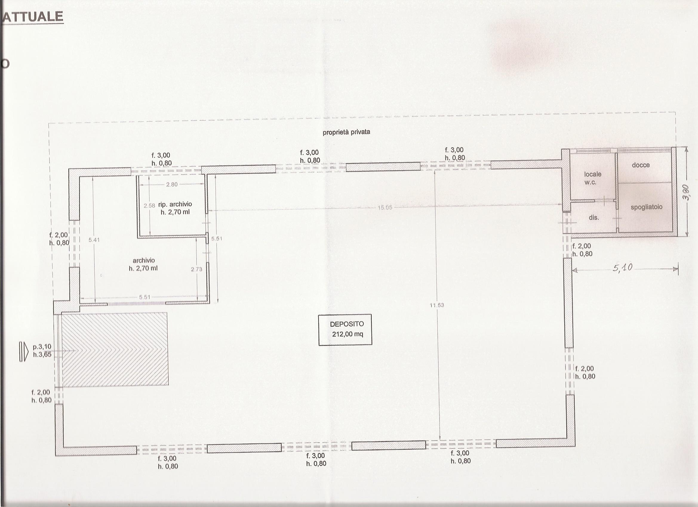 Planimetria 1/1 per rif. 406