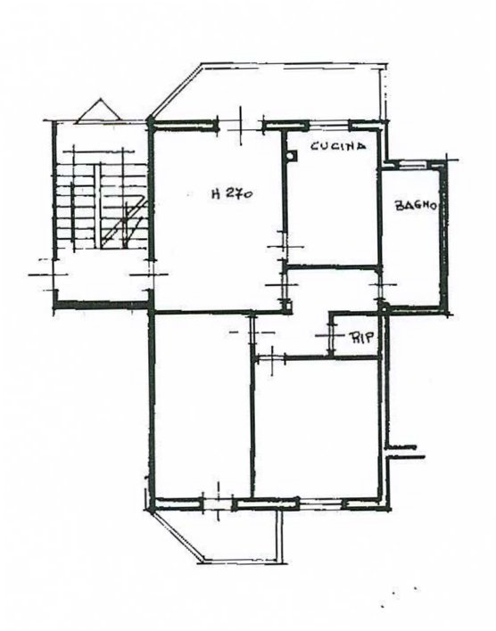 Planimetria 1/1 per rif. 189