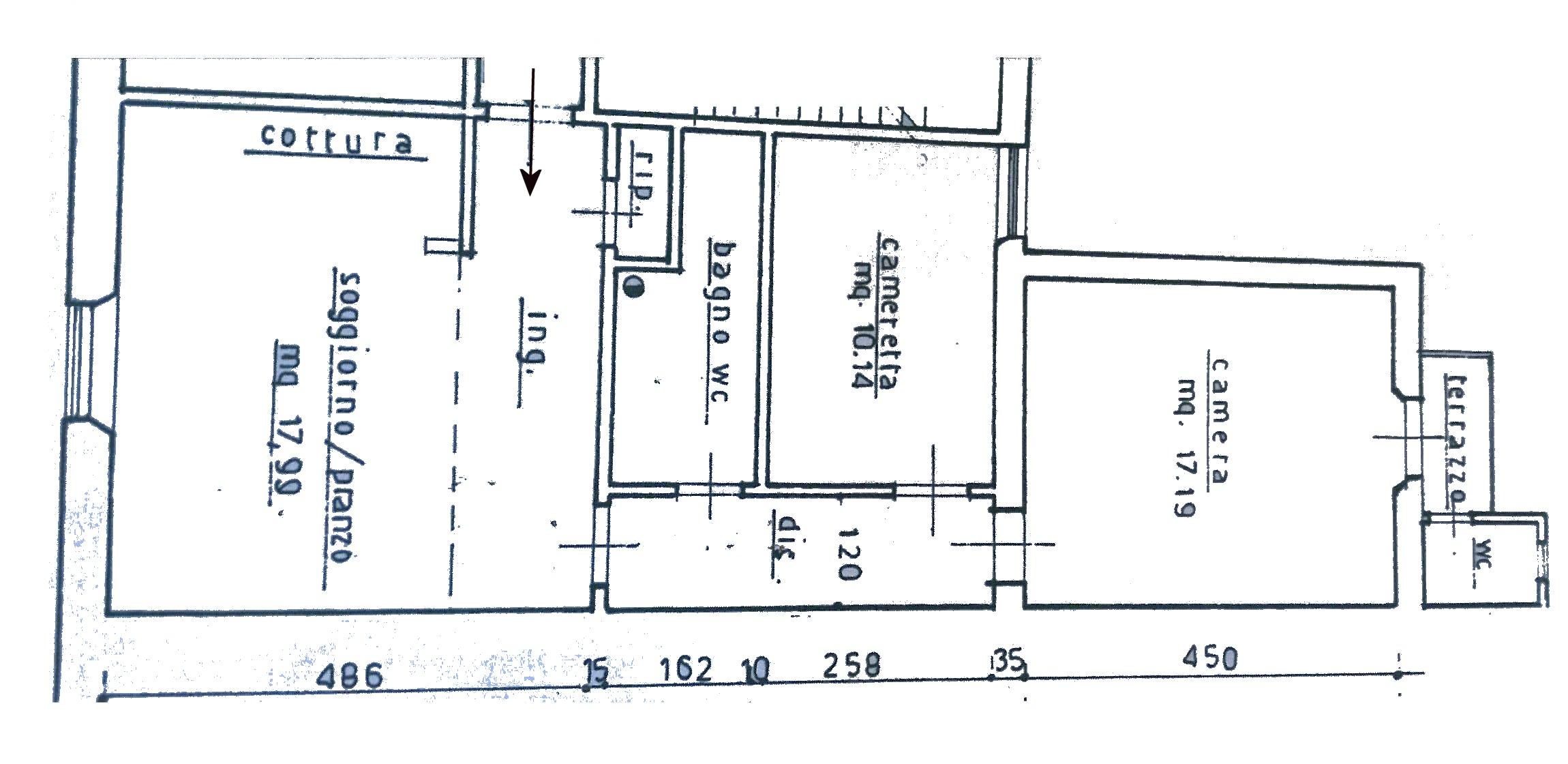 Planimetria 1/1 per rif. 224