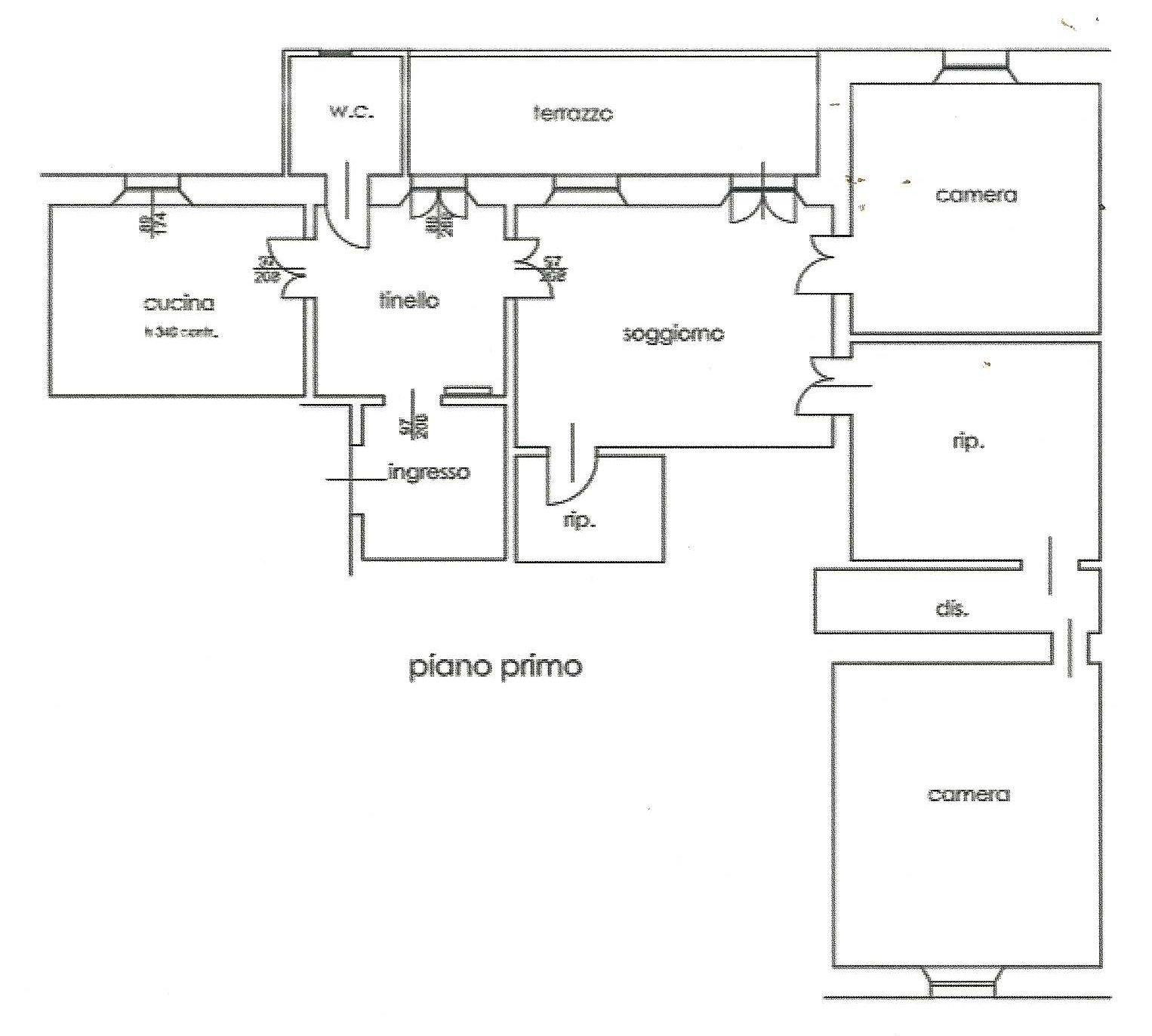 Planimetria 1/1 per rif. 350