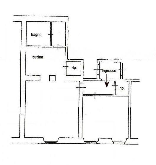 Planimetria 1/1 per rif. 306