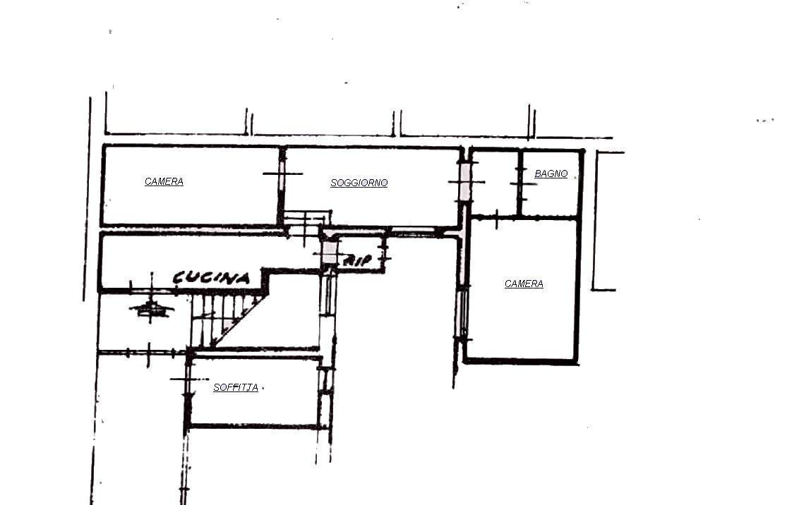 Planimetria 1/1 per rif. 634