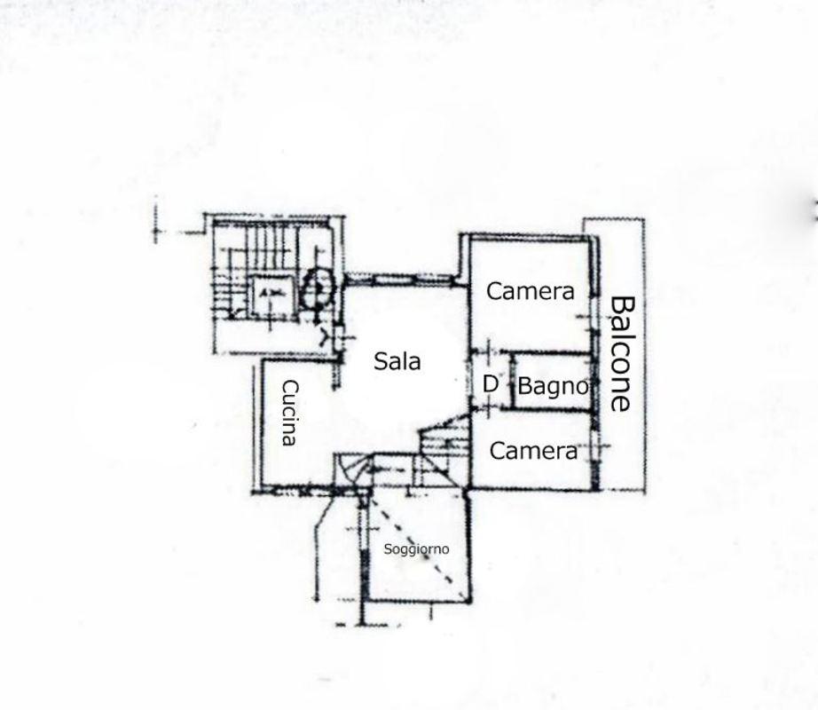 Planimetria 1/2 per rif. 274