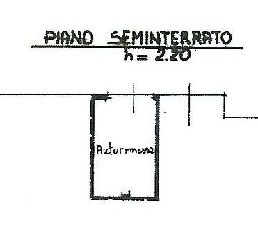 Planimetria 2/3 per rif. 731