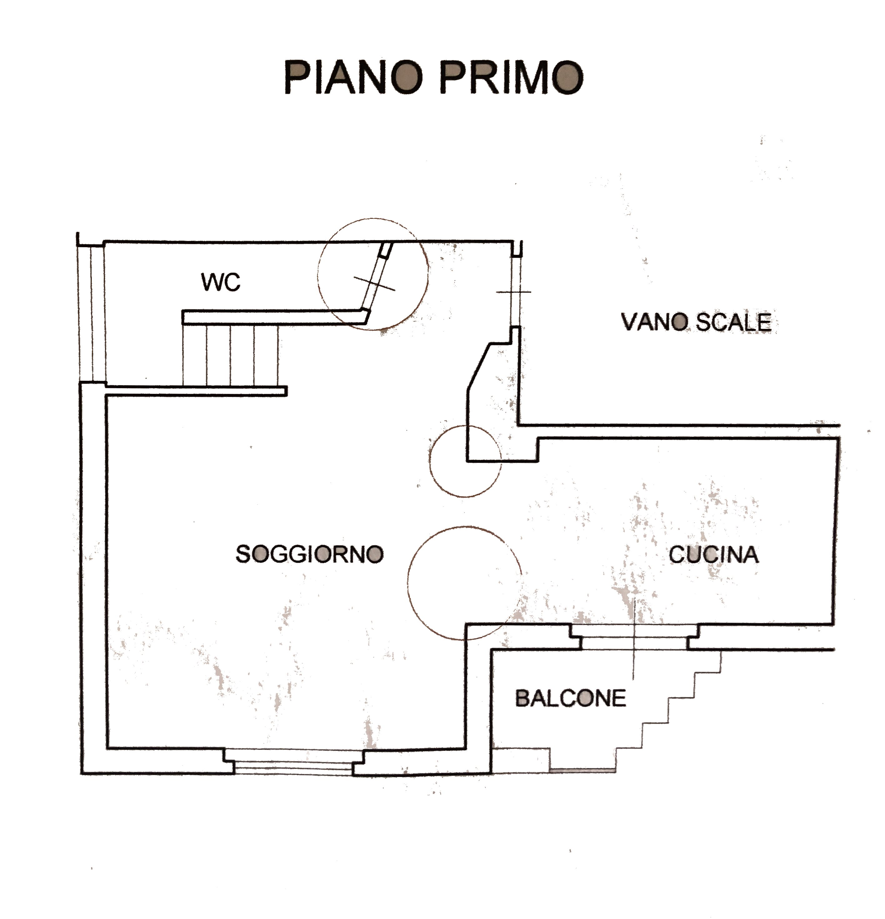 Planimetria 1/2 per rif. 332