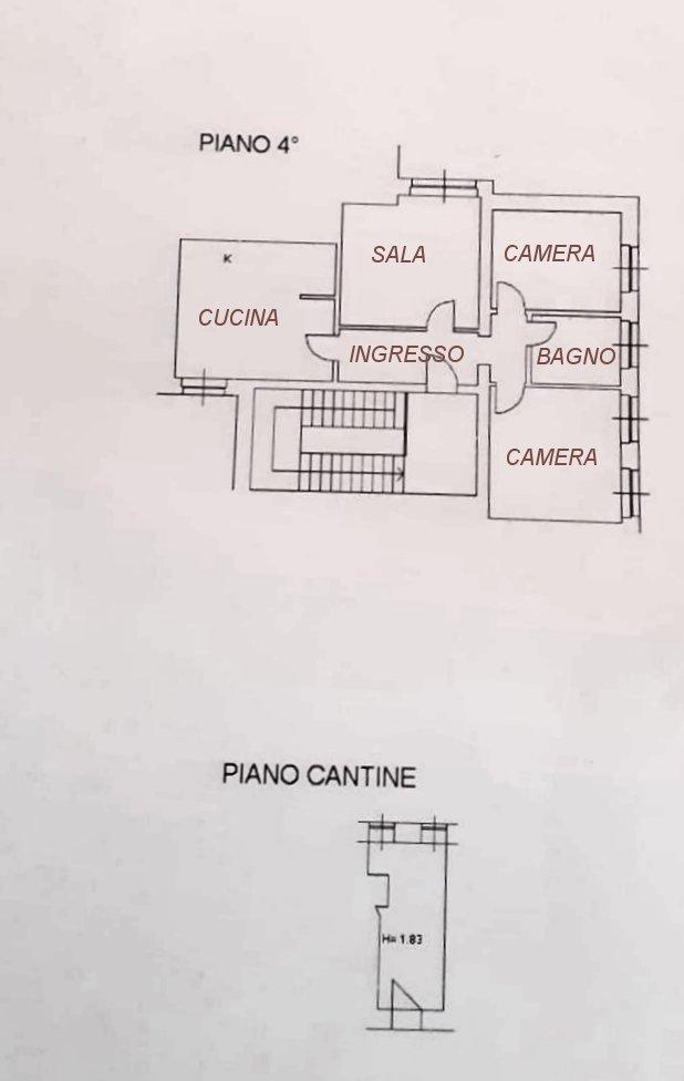 Planimetria 1/1 per rif. 734
