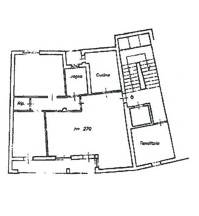 Planimetria 1/2 per rif. 229