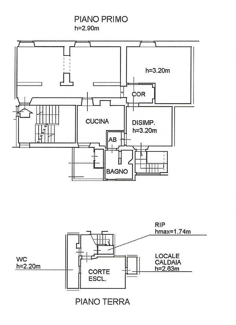 Planimetria 1/1 per rif. 637