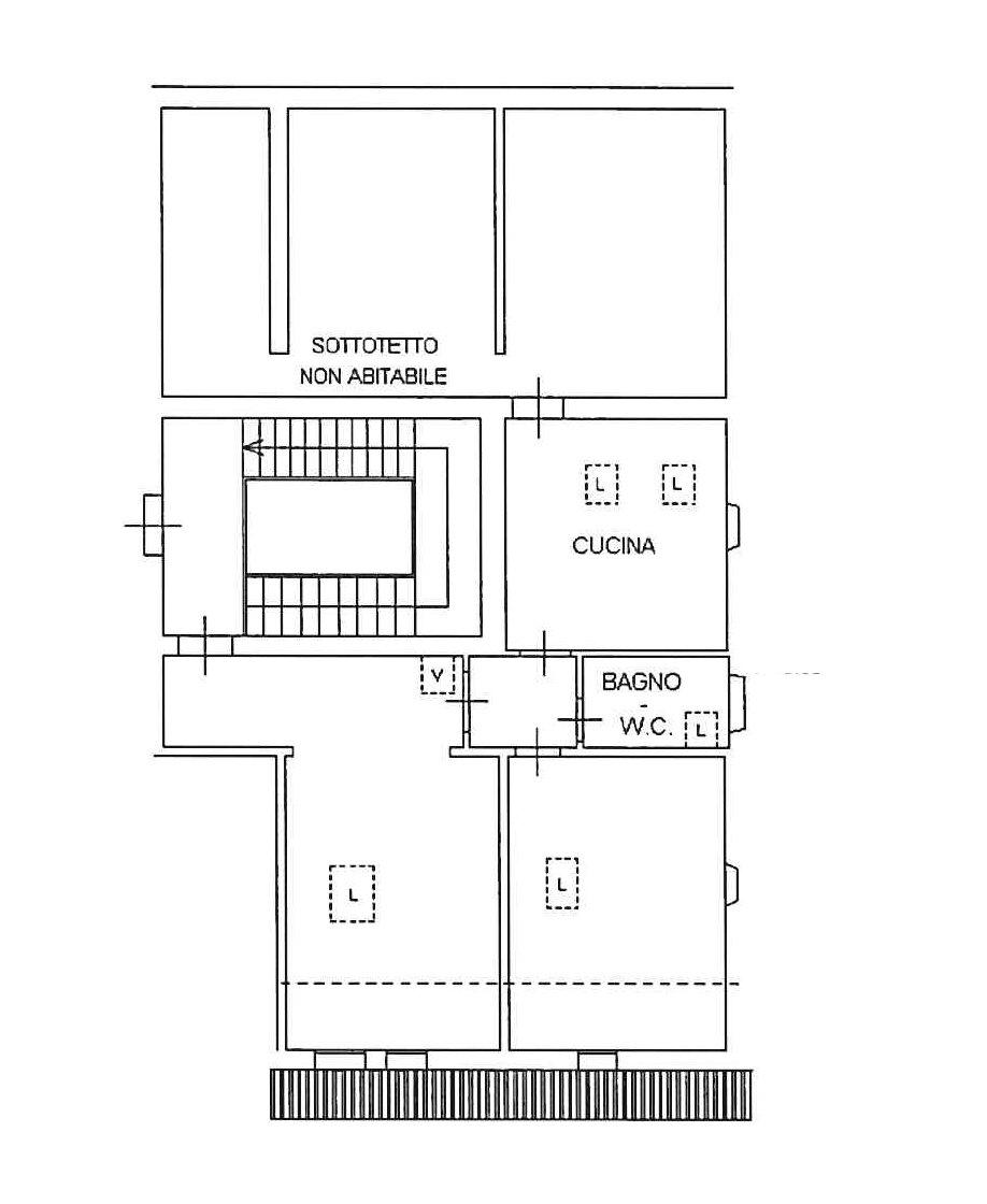 Planimetria 1/1 per rif. 737