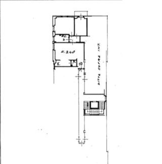 Planimetria 1/1 per rif. 685