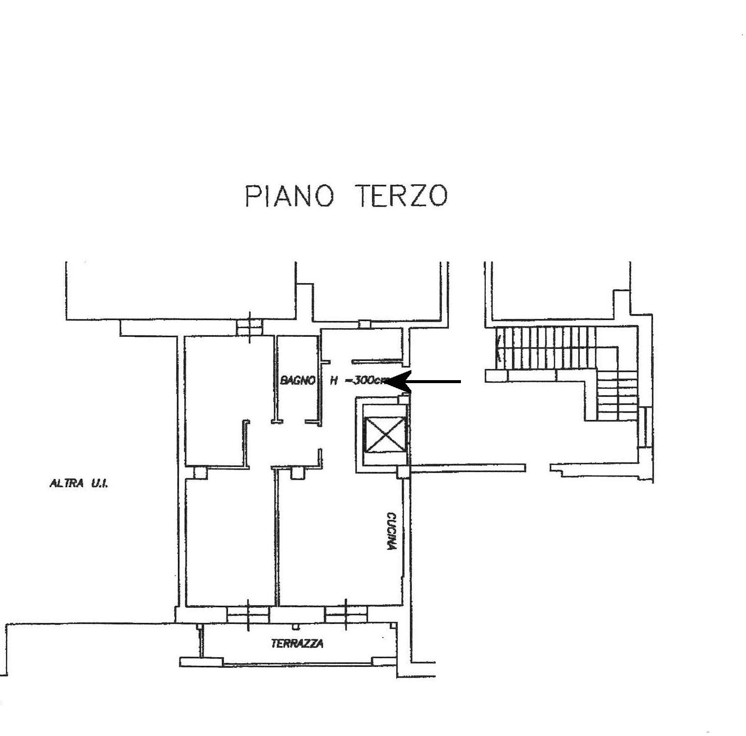 Planimetria 1/1 per rif. 747