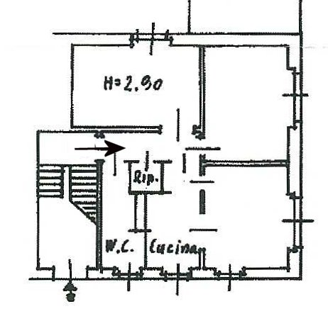 Planimetria 1/1 per rif. 625