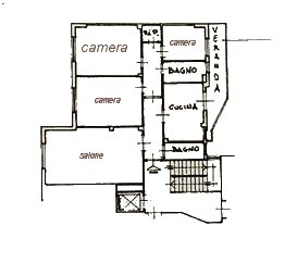 Planimetria 1/1 per rif. 451